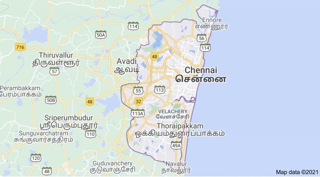 Internet Service coverage in Chennai