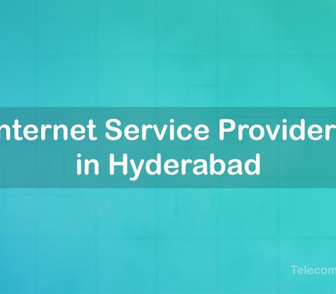 Best Internet Service Provider in Hyderabad